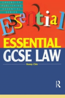 Essential GCSE Law, Paperback Book