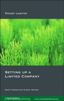 Setting Up a Limited Company, Paperback