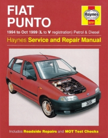 Fiat Punto (1994-1999) Service and Repair Manual, Paperback
