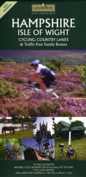 Hampshire and the Isle of Wight : Cycling Country Lanes, Sheet map, folded