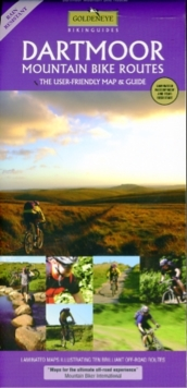 Dartmoor : Mountain Bike Routes, Sheet map, folded
