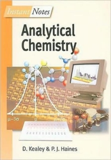 BIOS Instant Notes in Analytical Chemistry, Paperback