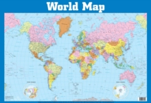 World Map Wall Chart, Wallchart Book
