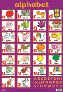 Learn the Alphabet Wall Chart, Wallchart
