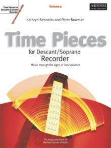 Time Pieces for Descant/Soprano Recorder : v. 1, Sheet music