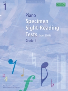 Piano Specimen Sight-Reading Tests, Grade 1, Sheet music