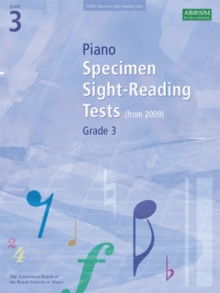 Piano Specimen Sight-Reading Tests, Grade 3, Sheet music