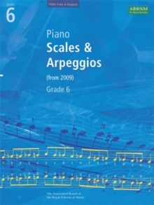 Piano Scales & Arpeggios, Grade 6, Sheet music