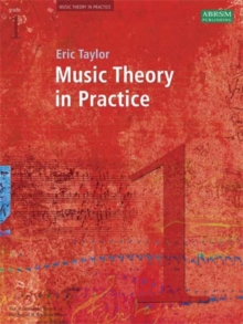 Music Theory in Practice, Grade 1, Sheet music Book
