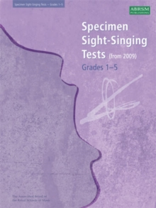 Specimen Sight-Singing Tests, Grades 1-5, Sheet music