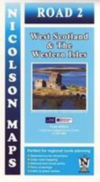 Road 2 West Scotland : & the Western Isles, Sheet map, folded Book