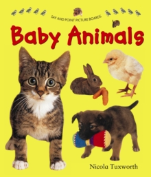 Say and Point Picture Boards: Baby Animals, Board book