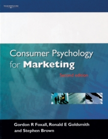 Consumer Psychology for Marketing, Paperback