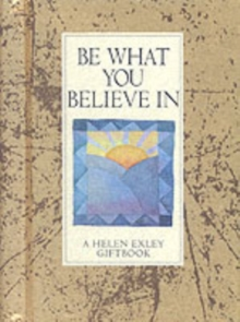 Be What You Believe in, Board book
