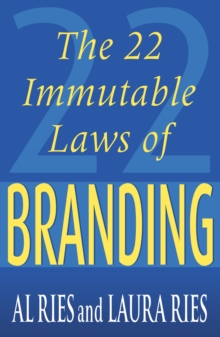 The 22 Immutable Laws of Branding, Paperback
