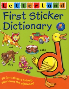 First Sticker Dictionary, Paperback
