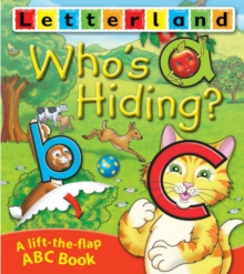 Who's Hiding ABC Flap Book, Paperback