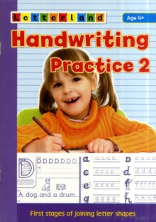 Handwriting Practice : Learn to Join Letter Shapes 2, Paperback