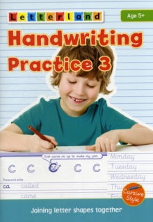 Handwriting Practice : Joining Letter Shapes Together 3, Paperback