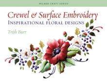 Crewel and Surface Embroidery, Paperback