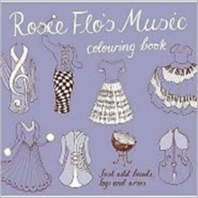 Rosie Flo's Music Colouring Book, Paperback