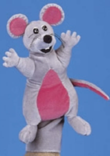 Jolly Phonics Puppet - Inky Mouse : Teacher Accessory, Toy