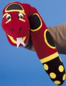 Jolly Phonics Puppet - Snake, Toy