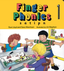 Finger Phonics : s, a, t, i, p, n, Board book