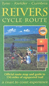 The Reivers Cycle Route : Tyne-Kielder-Cumbria, Sheet map, folded