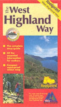 West Highland Way : Map/Guide, Sheet map, folded