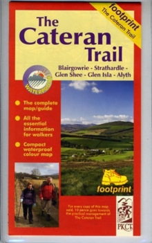 The Cateran Trail : Blairgowrie - Glenshee - Alyth, Sheet map, folded Book