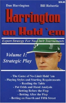 Harrington on Hold 'em : Expert Strategy for No Limit Tournaments Strategic Play v. 1, Paperback