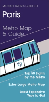 Guide to Paris : Metro Map and Guide, Sheet map, folded