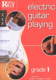 Electric Guitar Playing, Grade 1, Paperback Book