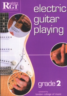 Electric Guitar Playing, Grade 2, Paperback Book