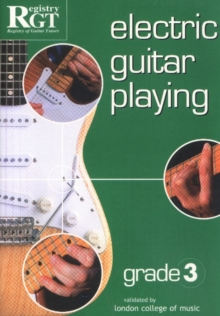 Electric Guitar Playing, Grade 3, Paperback Book