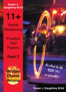 Verbal Reasoning Multiple Choice Test Papers : Pack 2, Paperback