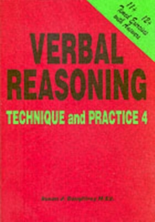 Verbal Reasoning : Technique and Practice No. 4, Paperback