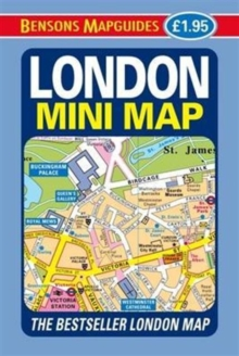 London Mini Map, Sheet map, folded