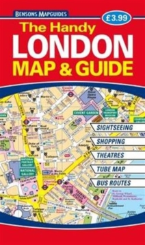 The Handy London Map & Guide, Paperback