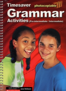 Grammar Activities : Pre-intermediate and Intermediate, Spiral bound