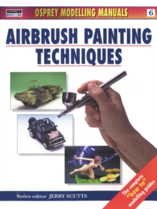 Air Brush Painting Techniques, Paperback Book