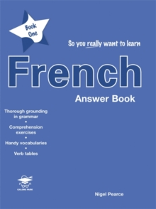 So You Really Want to Learn French : Answer Book Book 1, Paperback