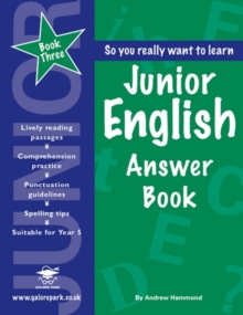 Junior English : Answer Book Book 3, Paperback