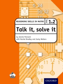 Talk it, Solve it - Reasoning Skills in Maths Yrs 1 & 2, Mixed media product