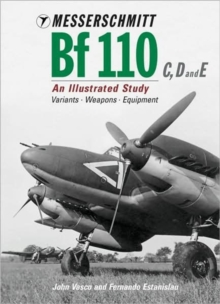 Messerschmitt Bf110 C, D and E, Hardback