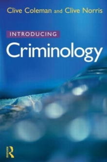 Introducing Criminology, Paperback