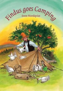 Findus Goes Camping, Hardback Book