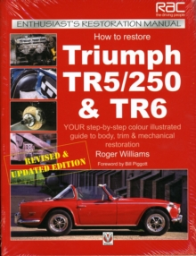 How to Restore Triumph Tr5, Tr250 and Tr6, Paperback