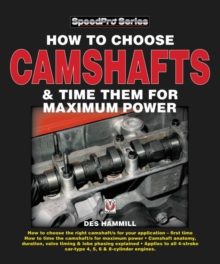 Camshafts and Camshaft Tuning for High Performance Engines, Paperback